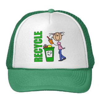 Réutilisez le chapeau de jour de la terre casquettes de camionneur
