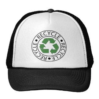Réutilisez le logo vert de Ceter Casquettes De Camionneur