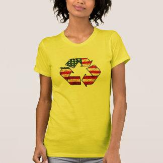 Réutilisez le T-shirt de l'Amérique