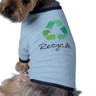 Réutilisez ! Verdissez les conceptions pour l'écol vêtements pour animaux domestiques
