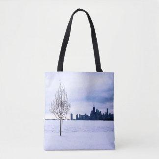 Rêve blanc - hiver Chicago, sacs