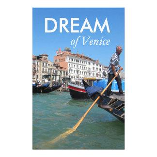 Rêve de Venise Papier À Lettre Customisé