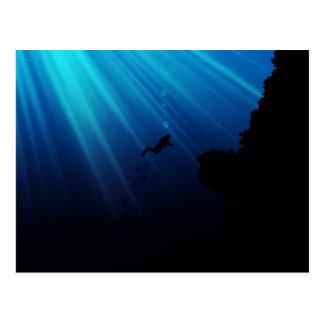 Rêve sous-marin cartes postales