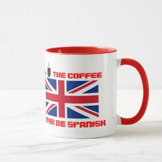 Réveillez et sentez la tasse de café
