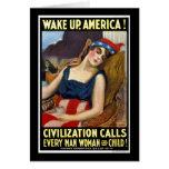 Réveillez l'Amérique Cartes