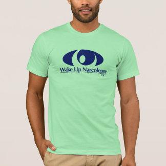 Réveillez le T-shirt des hommes de narcolepsie
