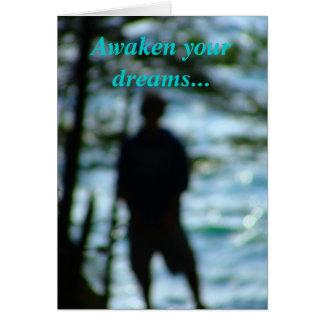 Réveillez vos rêves… carte de vœux
