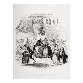 Réveillon de Noël à M. Wardle's Carte Postale