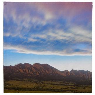 Rêver de Boulder le Colorado Serviettes De Table