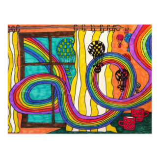 Rêver ensemble la carte postale