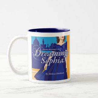 Rêver la tasse de café de Sophia avec de la La