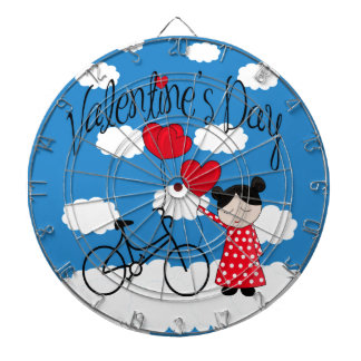 Rêverie de Saint-Valentin Jeux De Fléchettes