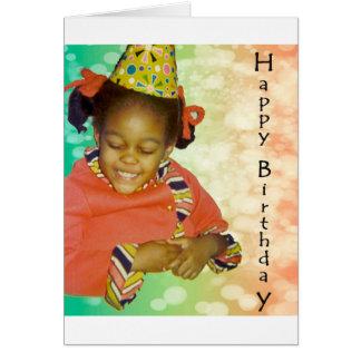 Rêves d'anniversaire carte de vœux