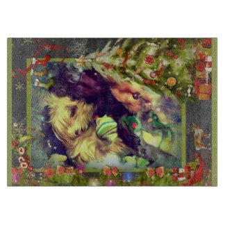 Rêves de Noël Toyland 11,5 x planche à découper 8