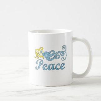 Rêves de vacances de sirène de paix mug