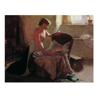 Rêves doux, 1892 carte postale