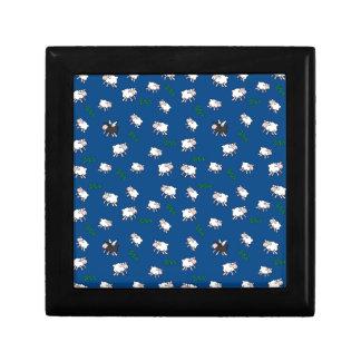 Rêves doux petite boîte à bijoux carrée