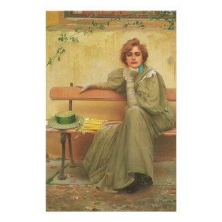Rêves par Vittorio Matteo Corcos 1896 Papeterie