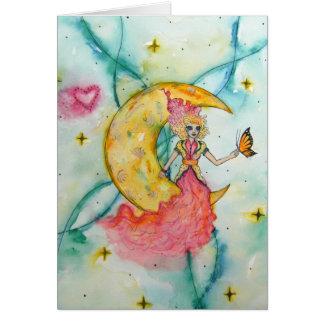 Rêvez un petit carte pour notes rêveur