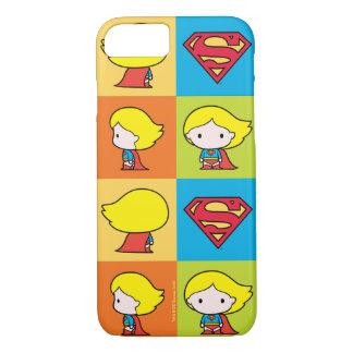 Revirement de caractère de Chibi Supergirl Coque iPhone 7