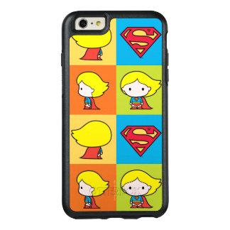 Revirement de caractère de Chibi Supergirl Coque OtterBox iPhone 6 Et 6s Plus