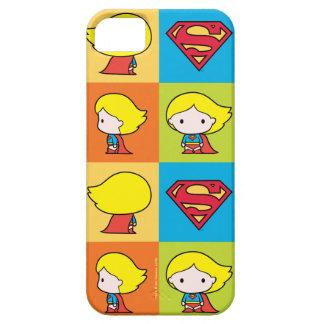 Revirement de caractère de Chibi Supergirl Coques Case-Mate iPhone 5