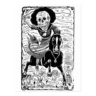 Revolucionaria par José Guadalupe Posada Carte Postale
