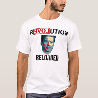 Révolution de Paul 2016 de couche-point rechargée T-shirt