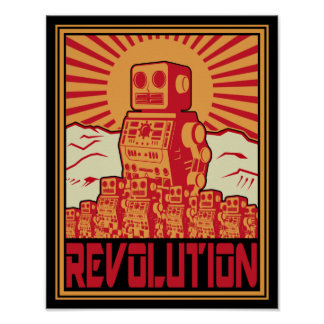 Révolution de robot affiche