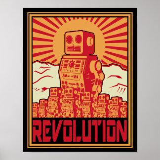 Révolution de robot posters