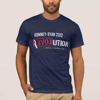 Révolution de Romney Ryan T-shirt