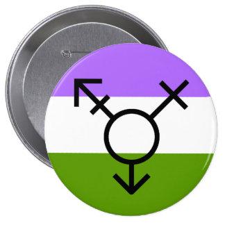 Révolution LGBTQA Genderqueer de genre Non-Binaire Badges