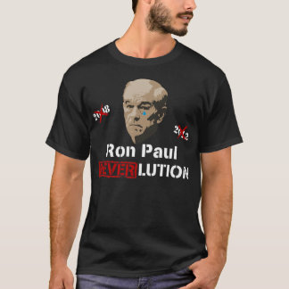 Révolution Neverlution de Ron Paul 2012 T-shirt