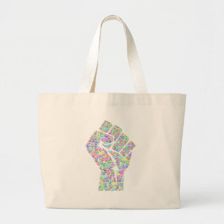 Révolution paisible grand tote bag