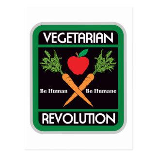 Révolution végétarienne carte postale