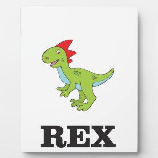 rex Dino d'amusement Plaques D'affichage