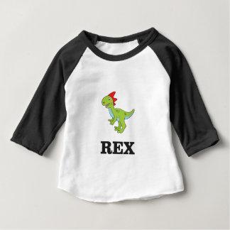 rex Dino d'amusement T-shirt Pour Bébé