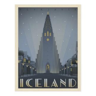 Reykjavik, Islande Carte Postale