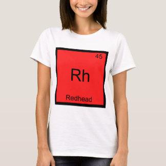 Rhésus - Pièce en t drôle rousse de symbole T-shirt