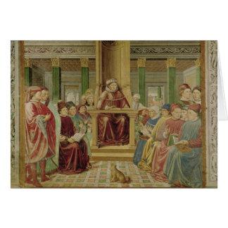 Rhétorique de lecture de St Augustine Cartes