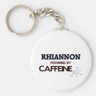 Rhiannon a actionné par la caféine porte-clé rond