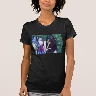 Rhiannon et son T-shirt de cheval de Fae