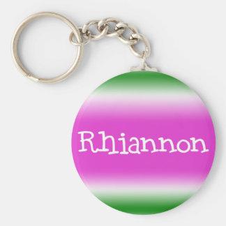 Rhiannon Porte-clé Rond