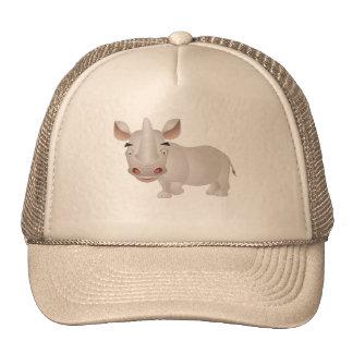 Rhinocéros de bébé casquette