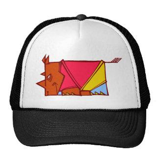 rhinocéros lumineux casquette de camionneur