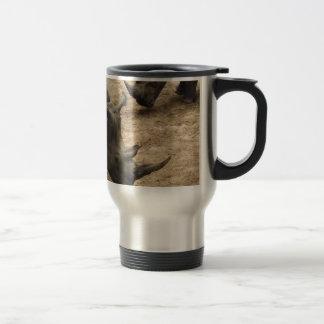 Rhinocéros Mug De Voyage