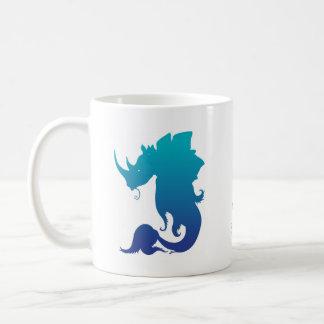 Rhinocéros-Stego-Poisson (modèle de couleurs de Mug