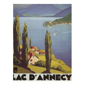 Rhône Alpes vintage Annecy France - Carte Postale