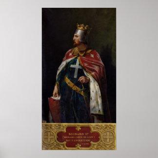 Richard I le roi d'Angleterre de Lionheart, 1841 Posters