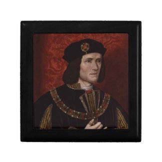 Richard III de l'Angleterre Petite Boîte À Bijoux Carrée